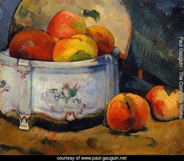 Still Life With Peaches