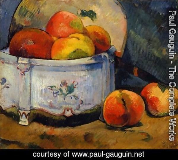 Paul Gauguin - Still Life With Peaches
