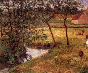 Paul Gauguin - Stream  Osny