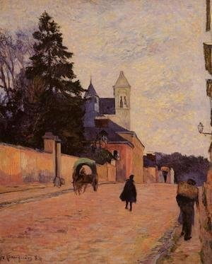 Paul Gauguin - Street In Rouen