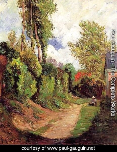 Paul Gauguin - Sunken Lane