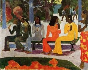 Paul Gauguin - Ta Matete Aka The Market