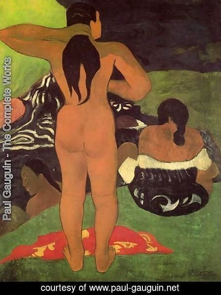 Paul Gauguin - Tahitian Women Bathing