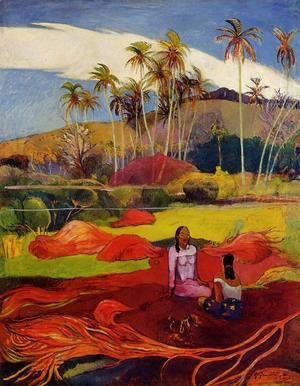 Paul Gauguin - Tahitian Women Under The Palms