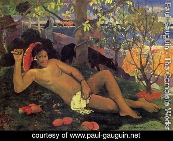 Paul Gauguin - Te Arii Vahine Aka The Kings Wife