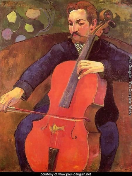 The Cellist Aka Portrait Of Fritz Scheklud