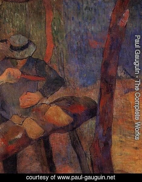 Paul Gauguin - The Clog Maker