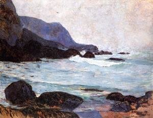 Paul Gauguin - The Coast Of Bellangenay