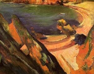 Paul Gauguin - The Creek  Le Pouldu