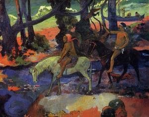 Paul Gauguin - The Ford Aka Flight