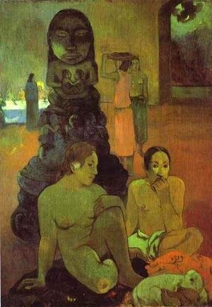 Paul Gauguin - The Great Buddah