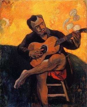 Paul Gauguin - The Guitar Player