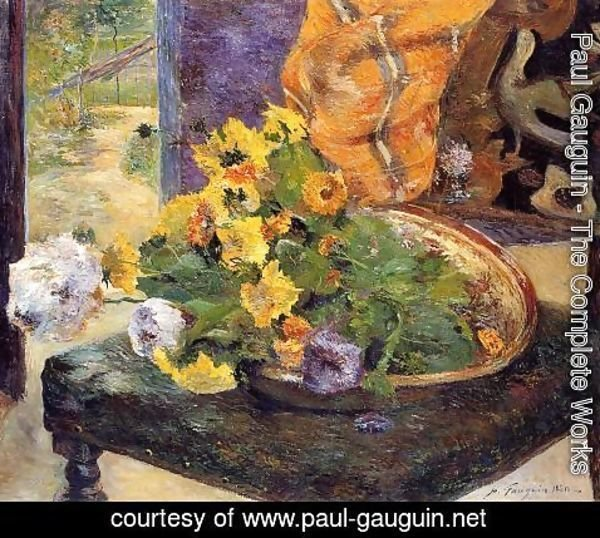 Paul Gauguin - The Makings Of A Bouquet