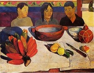 Paul Gauguin - The Meal Aka The Bananas