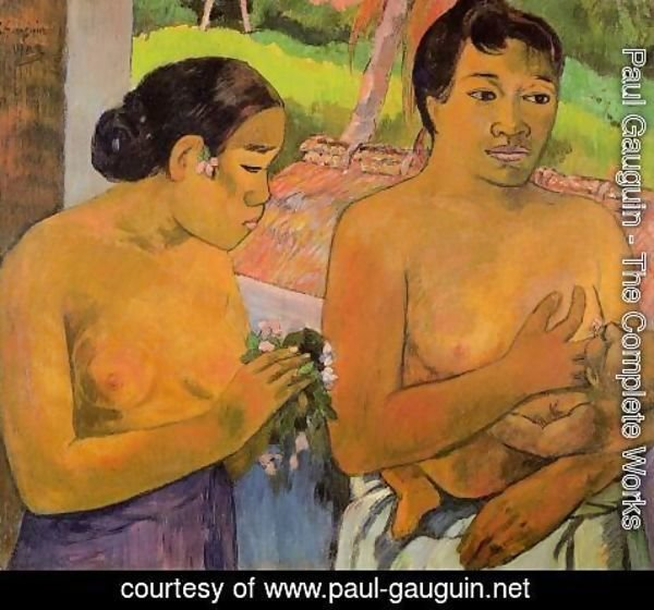 Paul Gauguin - The Offering