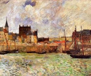 Paul Gauguin - The Port  Dieppe