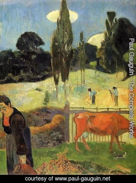 Paul Gauguin - The Red Cow