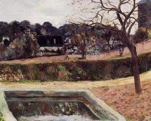 Paul Gauguin - The Square Basin Aka Pond