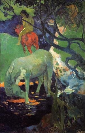 Paul Gauguin - The White Horse