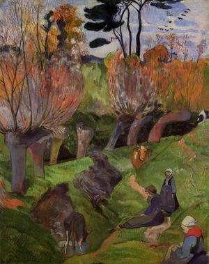 Paul Gauguin - The Willows