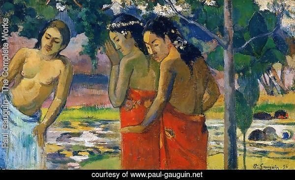 Three Tahitian Women