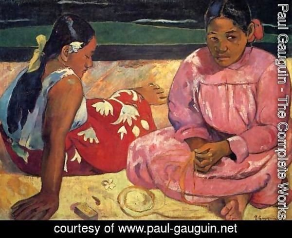 Paul Gauguin - Two Women On The Beach