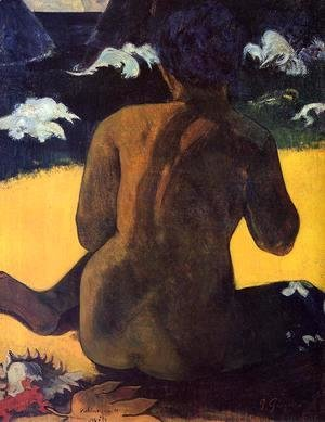 Paul Gauguin - Vahine No Te Miti Aka Woman By The Sea