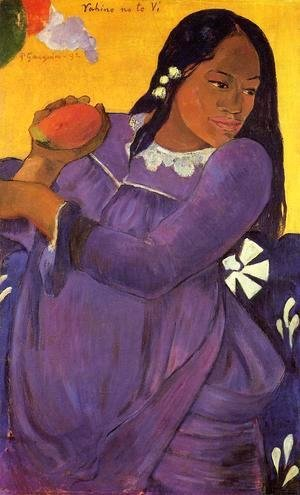 Paul Gauguin - Vahine No Te Vi Aka Woman With A Mango