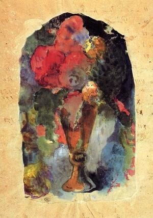 Paul Gauguin - Vase Of Flowers (after Delacroix)