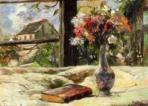 Vase Of Flowers And Window