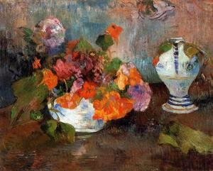 Paul Gauguin - Vase Of Nasturtiums