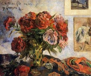 Paul Gauguin - Vase Of Peonies