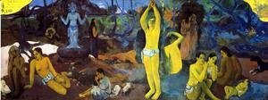 Paul Gauguin - Where Do We Come From What Are We Doing Where Are We Going