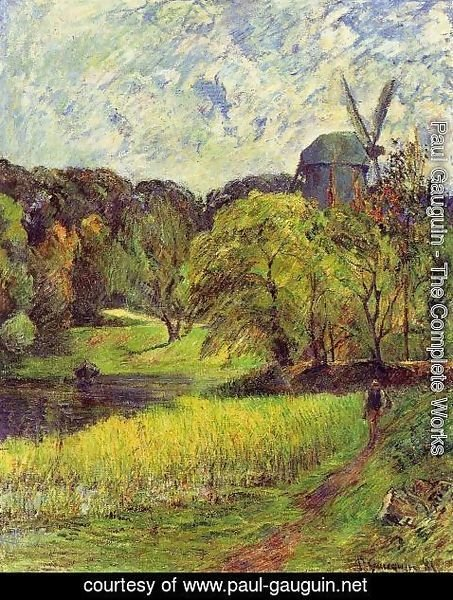 Paul Gauguin - Windmil  Ostervold Park