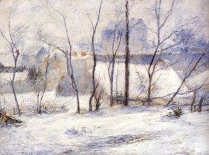 Paul Gauguin - Winter Landscape  Effect Of Snow Aka Snow At Vaugirard  II