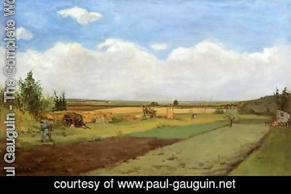Paul Gauguin - Working The Land