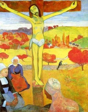 Paul Gauguin - Yellow Christ
