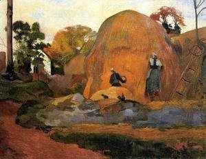 Paul Gauguin - Yellow Haystacks Aka Golden Harvest