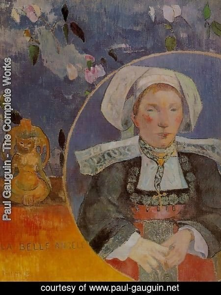 Paul Gauguin - The Beautiful Angele