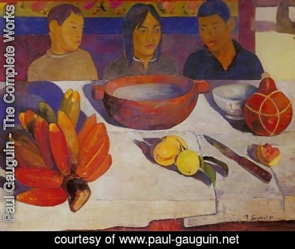 Paul Gauguin - Meal or Bananas