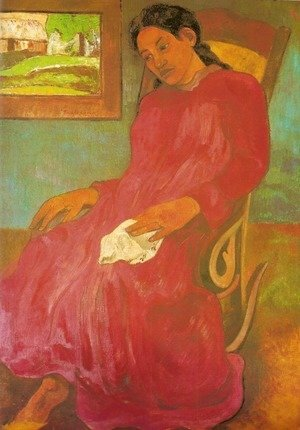 Paul Gauguin - Reverie